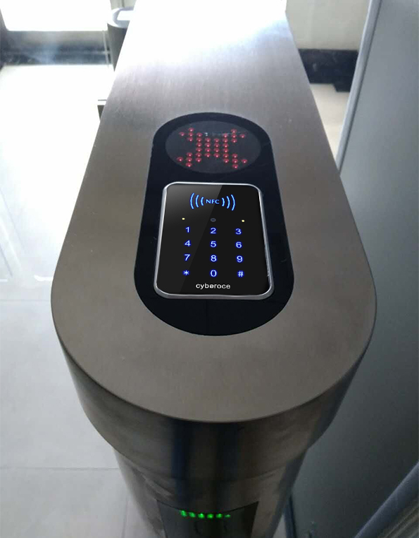 塞伯罗斯二维码读卡器在闸机上的应用