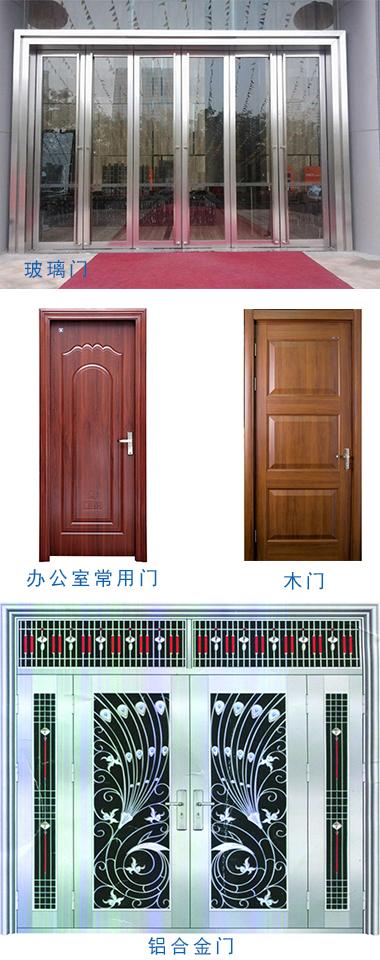 塞伯罗斯二维码读卡器可以安装在这些门上