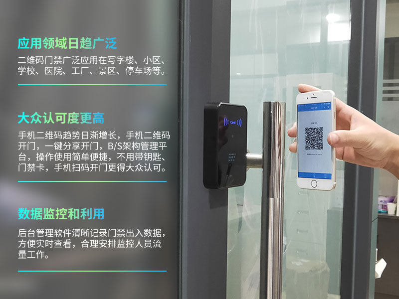 二维码门禁系统在国外应用有哪些优势前景?