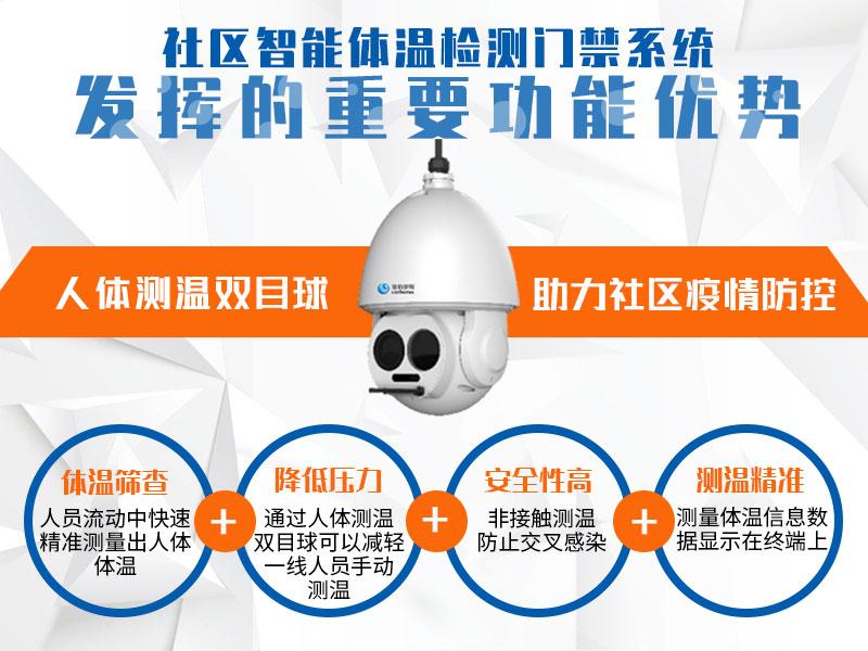 社区智能体温检测门禁系统